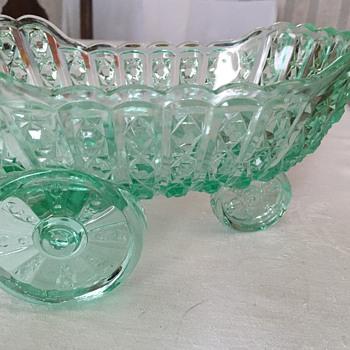 Vaseline Glass  - Glassware