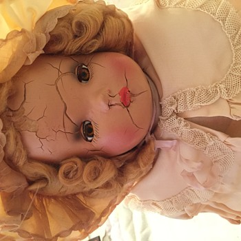 My Mother's doll-1930s?