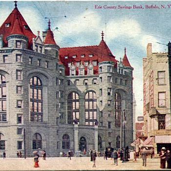 Two vintage Buffalo, NY Postcards......