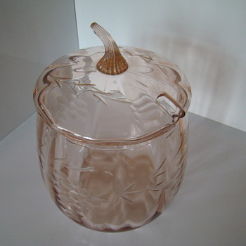 Glass punch bowl - Glassware
