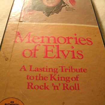 Memories of Elvis, A collectors edition. Special Product