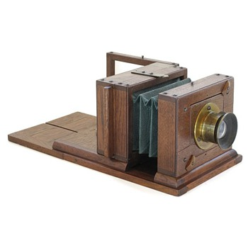 "Stockwell 4"" x 5"" View Camera, c.1875 - Cameras"