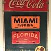 Vintage Coca Cola Menu Sign