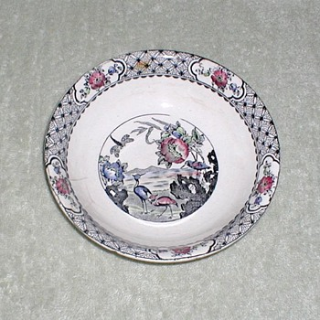 "WR Midwinter ""Moyen"" Bowl - China and Dinnerware"