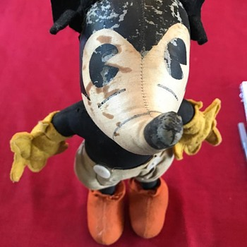 "1930's Steiff 11"" Mickey Doll ??"