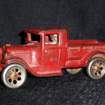 Red Arcade Truck
