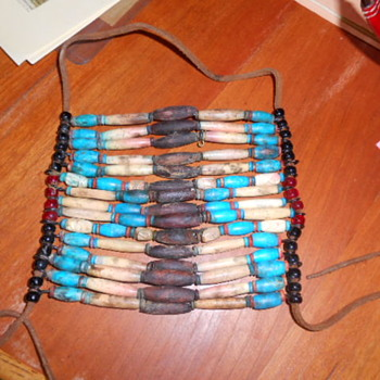 Native American Beaded Breast Plate