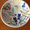 Hand painted Faience Bowl Stig Lindberg for Gustavsberg ca.1950
