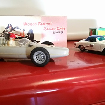 A couple of Porsches - Model Cars