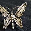 Victorian filigree butterfly