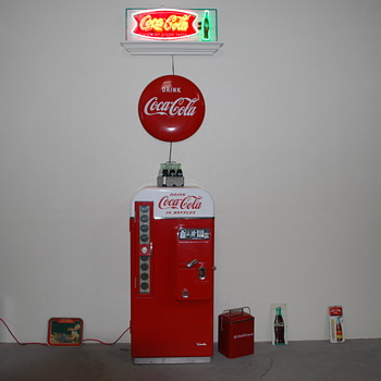 My vintage original V-81 that I have owned for 45 years. - Coca-Cola
