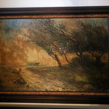 Anyone, please help - more information of a beautiful vintage oil painting  - Fine Art
