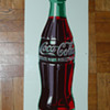 Coca Cola Bottle Tin Sign  1948
