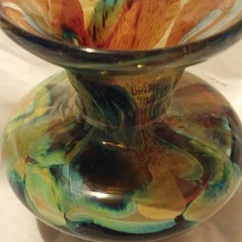 """Little 3"""" vase - Art Glass"""