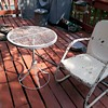 My New Old Deck Table And Furniture From Long Beach