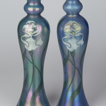 Poschinger vases for the Paris World Exhibition in 1900 and lessons - Art Glass