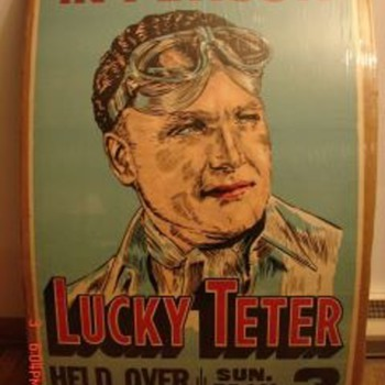 Vintage Lucky Teter - Posters and Prints