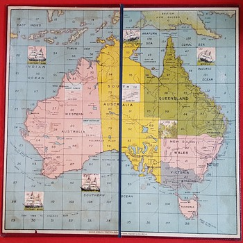 "Chad Valley ""Advance Australia"""