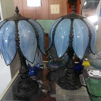 My wife and I recently aquired these beautiful lamps - Lamps