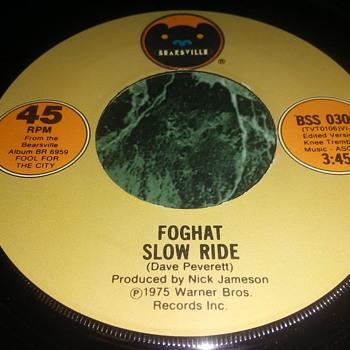 Foghat...On 45 RPM Vinyl - Records