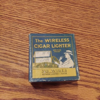 """1920's? S. Smith & Sons (MA) """"The WIRELESS CIGAR LIGHTER"""""""