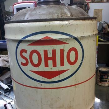 5 gallon sohio can - Petroliana