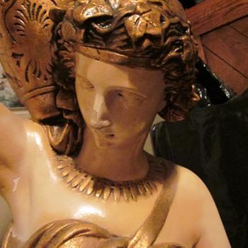 Art Nouveau Figural Lamp? - Art Nouveau