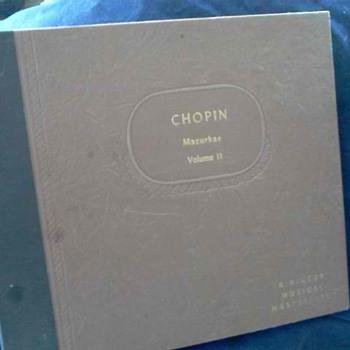 Found 78 records by Arthur Rubinbstein. Chopin Vol. II - Records