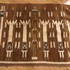 """Navajo  Yei rug 36"""" wide by 27"""" inch tall"""