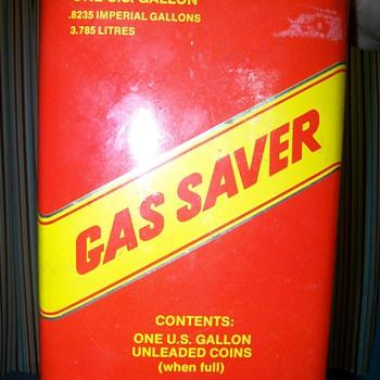 Gas Saver Piggy Bank - Petroliana