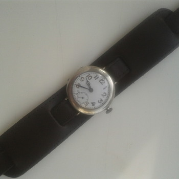 1914 silver trench watch - Wristwatches