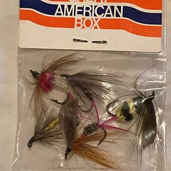 American Airlines memorabilia - fishing flies - Advertising