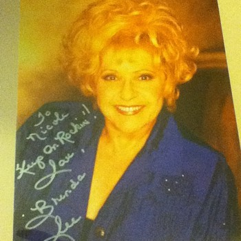 Brenda Lee Signed Photo - Music Memorabilia