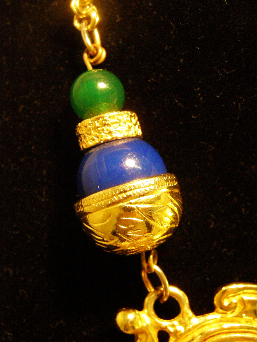 Vintage Donald Stannard Double Dragon Necklace Collectors Weekly