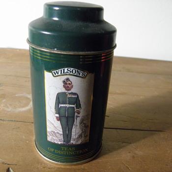 Tea Tins - Advertising
