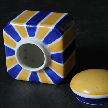 unknown limoges inkwell - China and Dinnerware