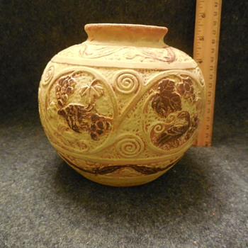 Pottery Jar/Vase Made In Japan - Asian