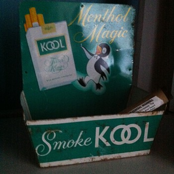 Kool Menthol Magic  cigarettes  - Tobacciana