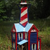 Popsicle Stick Lighthouse - Popsicle Stick House - Popsicle Stick Art