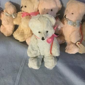Mini teddy bears from Germany  - Dolls