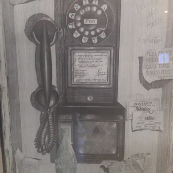 Two of my favorite pictures  - Telephones