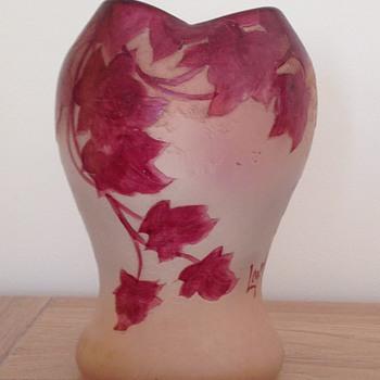 """Legras vase """"Rubis"""" - Art Nouveau"""