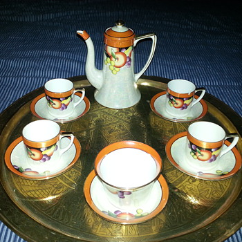 Noritake coffee set pre 1941