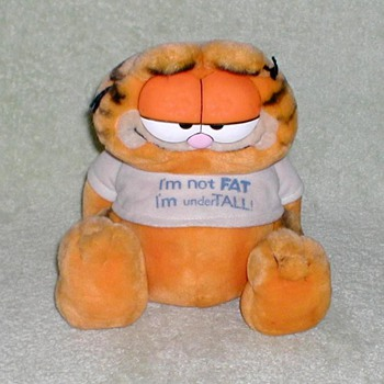 "1981 - ""Garfield"" Plush Toy - Toys"