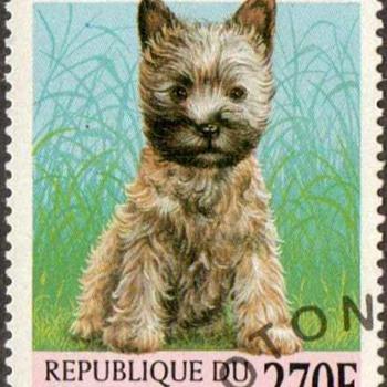 "1998 - Benin - ""Cairn Terrier"" Postage Stamp - Stamps"