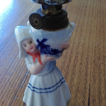 Sweet oil lamp from Holland ?? 1938 from my mum - Lamps