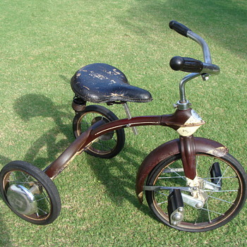 My 1930s Velo King Tricycle all original. - Toys