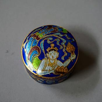 Cloisonne Pill Box? - Asian