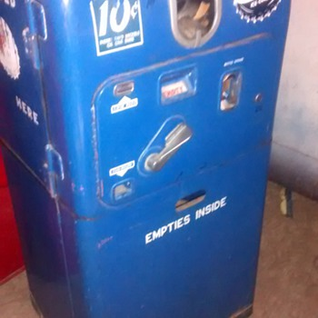 VMV 27D Pepsi Machine