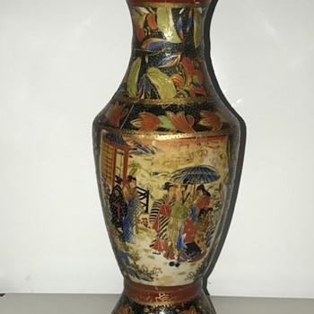 """10"""" Tall Vase - Asian"""
